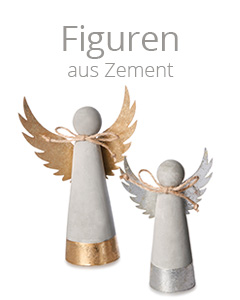 Figuren aus Zement