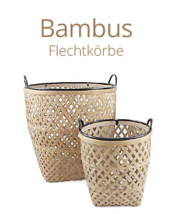 Bambuskörbe & Co.
