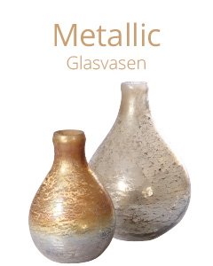 Metallic Glasvasen